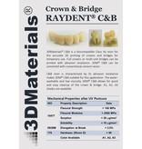 Zortrax Zortrax Raydent Crown & Bridge Resin