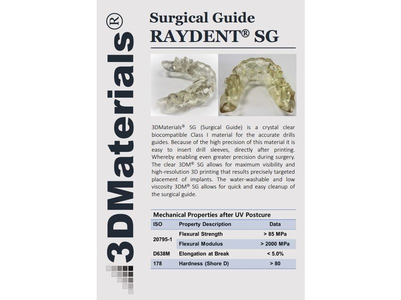 Zortrax Zortrax Raydent Surgical Guide Resin