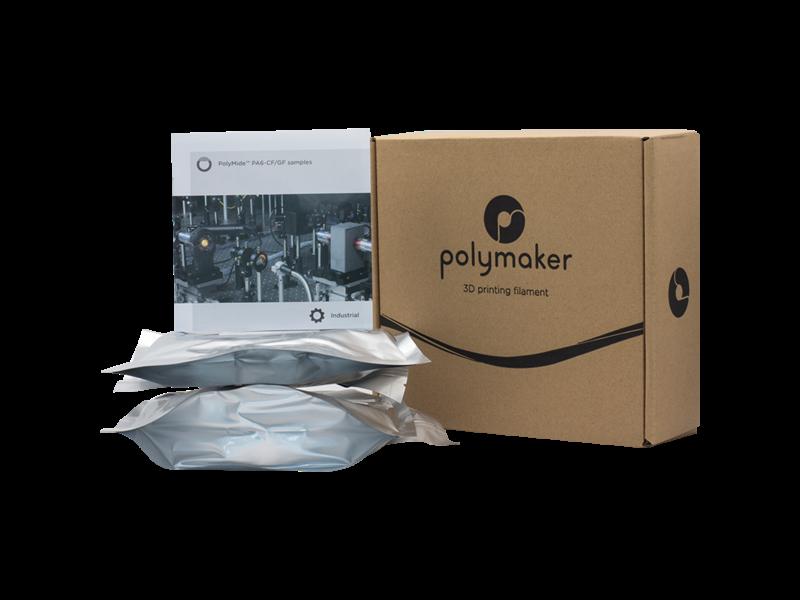 Polymaker Industrial Polymide PA6-CF & GF Sample (2 x 100gr)