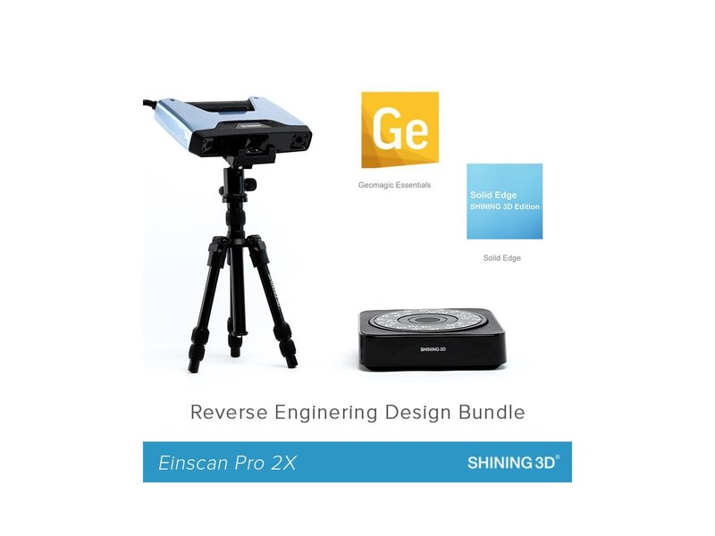 Shining 3D Einscan Pro 2X Reverse Engineering Design bundel