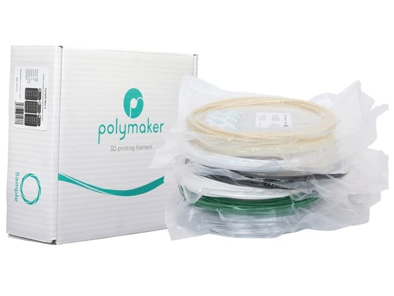 Polymaker Sample Pack Polylite ABS & ASA & PC & Polymax PC & CoPA & Polydissolve S1 & Polysupport (Random Colors)