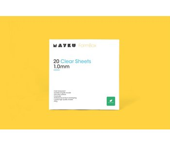 Mayku Clear Sheet 1.0mm (20 stuks)