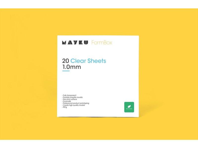 Mayku Clear Sheet 1.0mm (20 stuks)