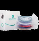 Polymaker Sample Pack Polylite PLA & PETG & Max PLA & PETG & Flex & TPU95 & wood & Smooth (Random Colors)