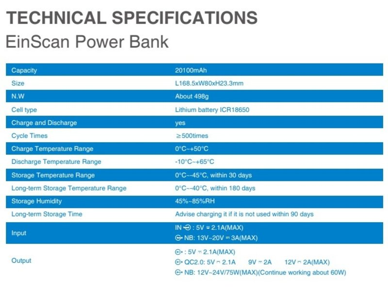 Shining 3D Power bank