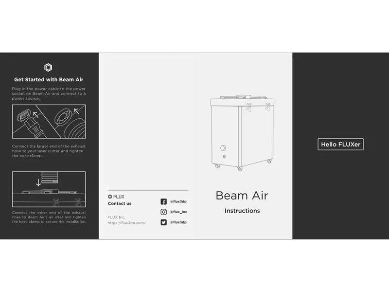 FLUX Beam Air Luchtfilter