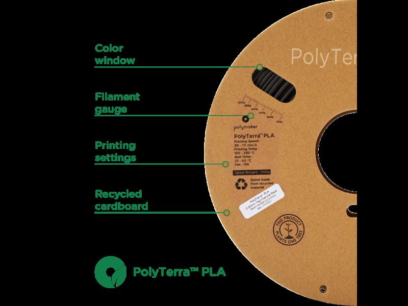 Polymaker Polyterra PLA Katoen Wit