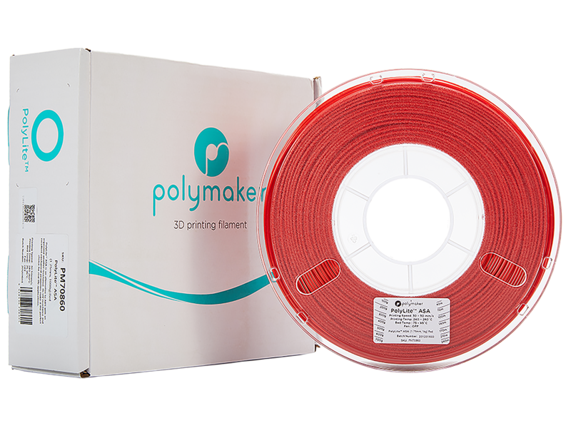 Polymaker Polymaker Polylite  ASA Rood