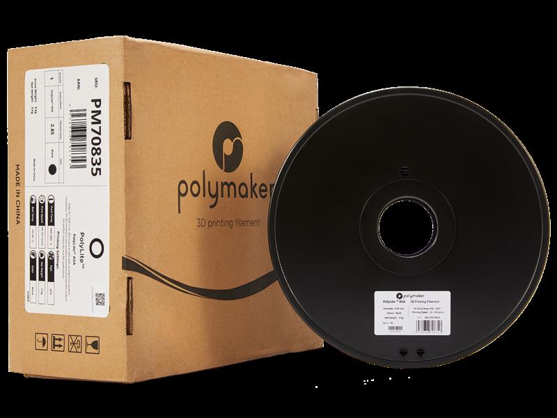 Polymaker Polymaker Polylite  ASA Zwart