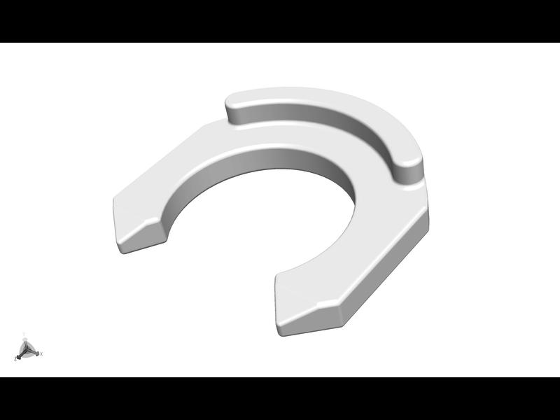 Ultimaker Clamp Clip White (2137)