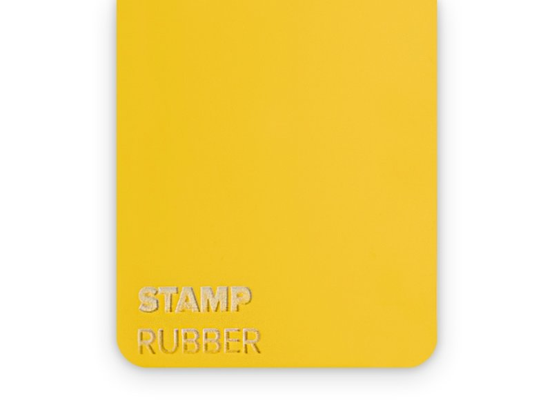 Rubber Stamp 2.3mm - 3 sheets