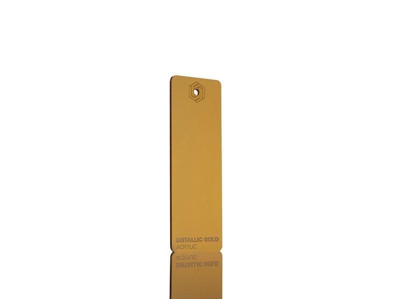 Acrylic Metallic Gold 3mm - 3/5sheets
