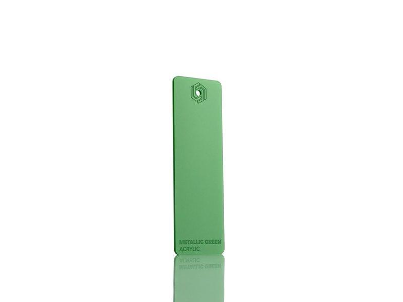 Acrylic Metallic Green 3mm - 3/5sheets