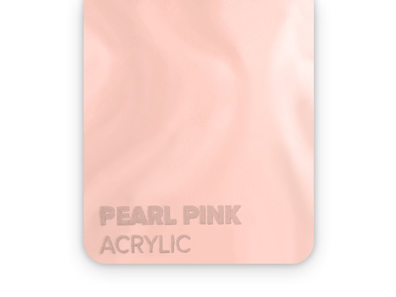 Acrylic Pearl Pink 3mm
