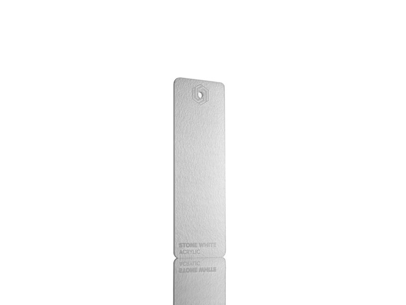 Acrylic Stone White 3mm - 3/5sheets