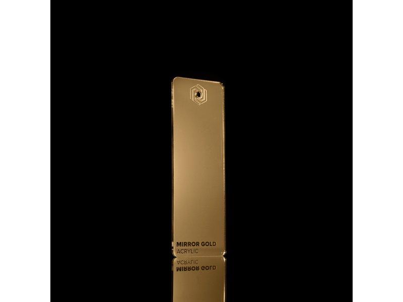 Acrylic Mirror Gold 3mm - 3/5sheets