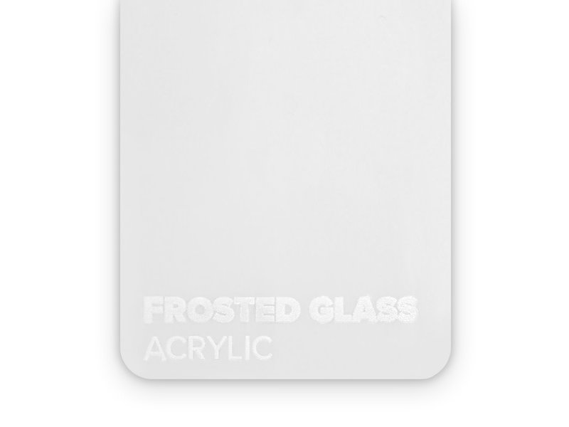 Acrylic Frosted Glass 3mm - 3/5sheets