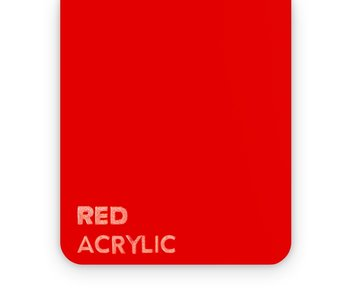Acrylic Red 3mm