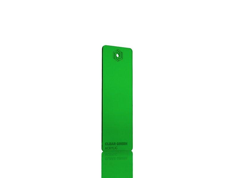 Acrylic Clear Green 3mm