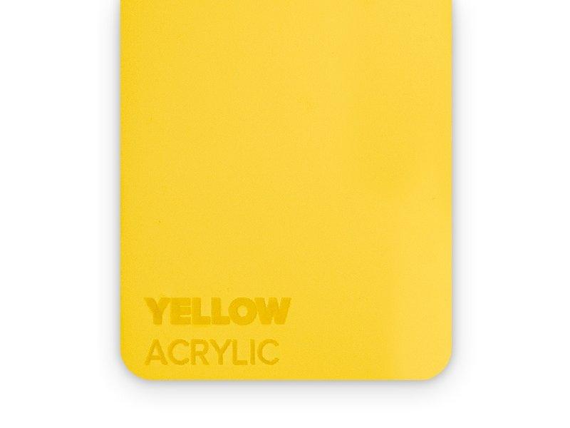 Acrylic Yellow 3mm - 3/5sheets
