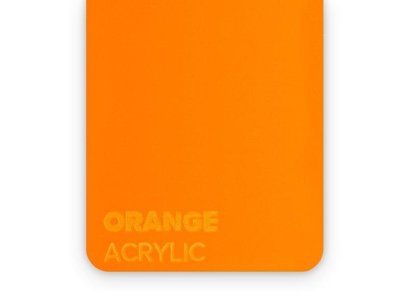 Acrylic Orange 3mm - 3/5sheets