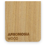 Wood Afromosia 3mm  - 3/5sheets