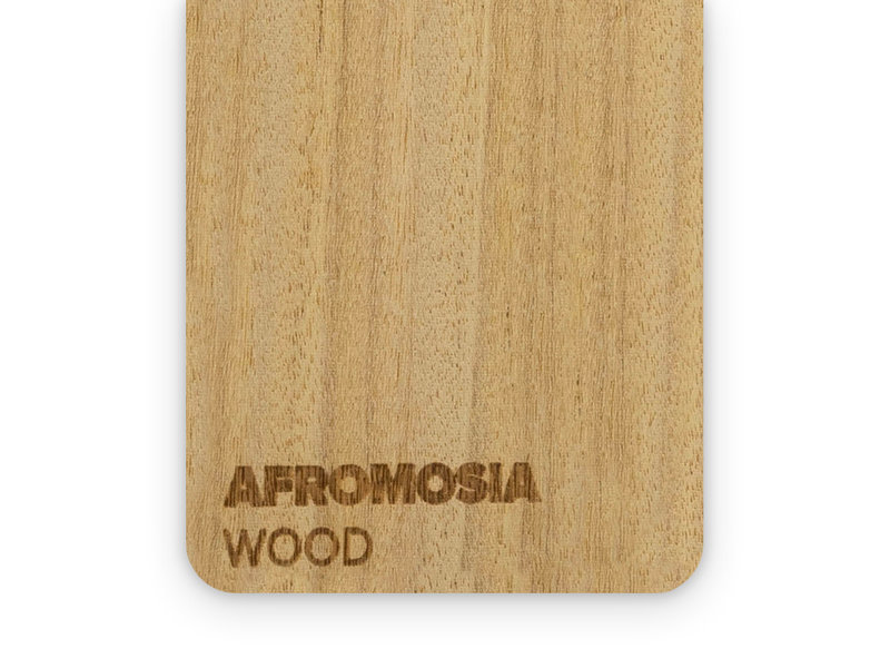 Wood Afromosia 3mm