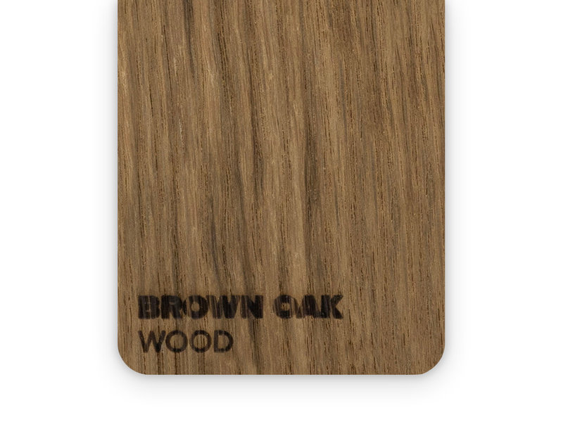 Wood Brown Oak 3mm  - 3/5sheets