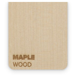 Wood Maple 3mm