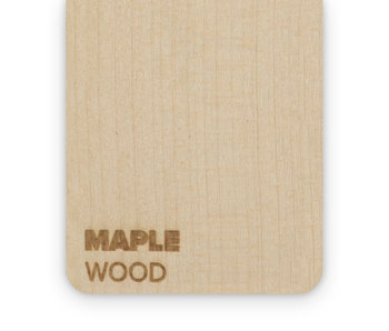 Wood Maple 3mm  - 3/5sheets