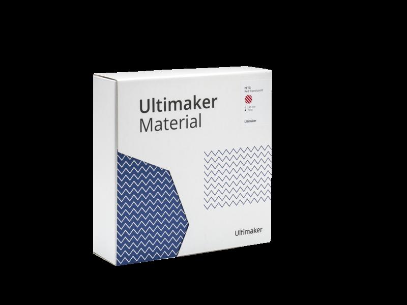 Ultimaker PETG Red Translucent
