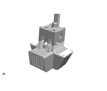 Ultimaker Printhead Assembly FR S3/S5R2 (219259)