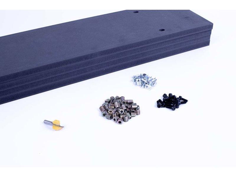 Mekanika Spoiler board Evo S + mounting gear