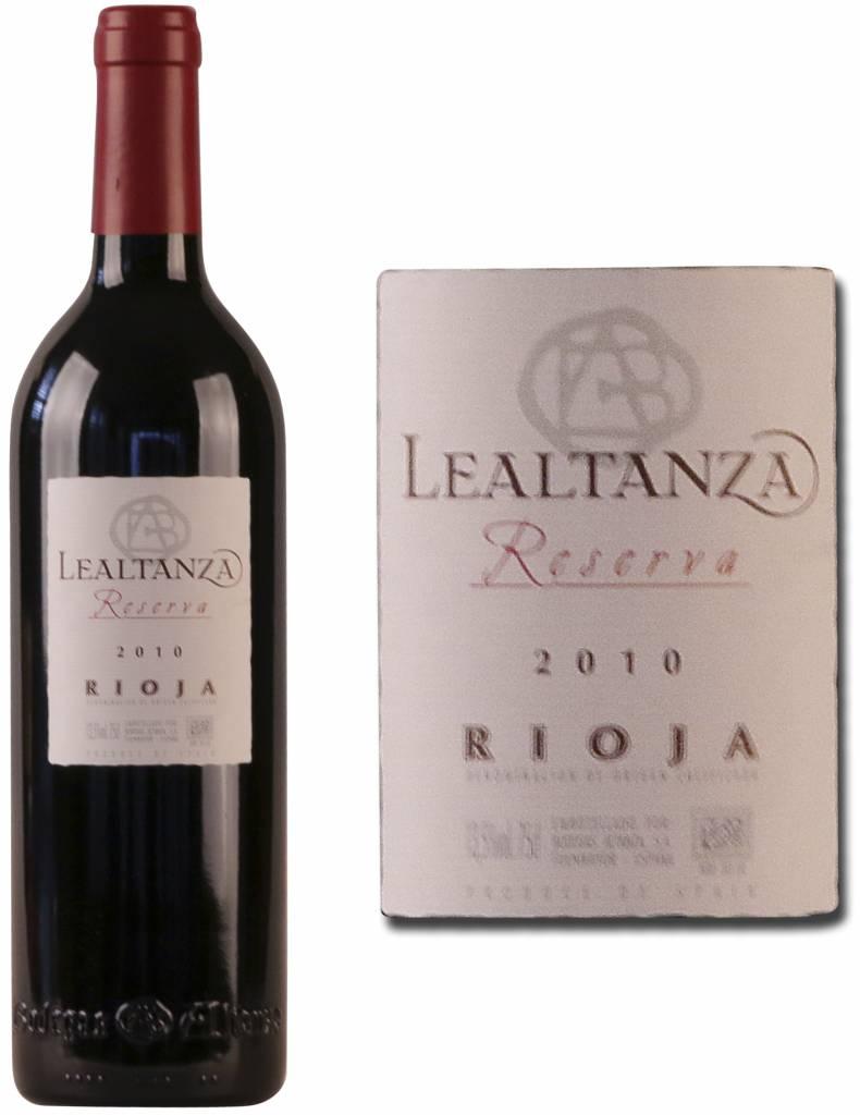 Bodega Lealtanza Bodegas Altanza Lealtanza Rioja Reserva