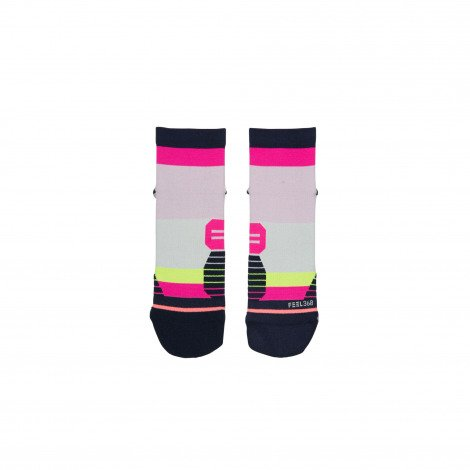 Stance Stance Carb Qtr Pink Loopsok Dames - Copy