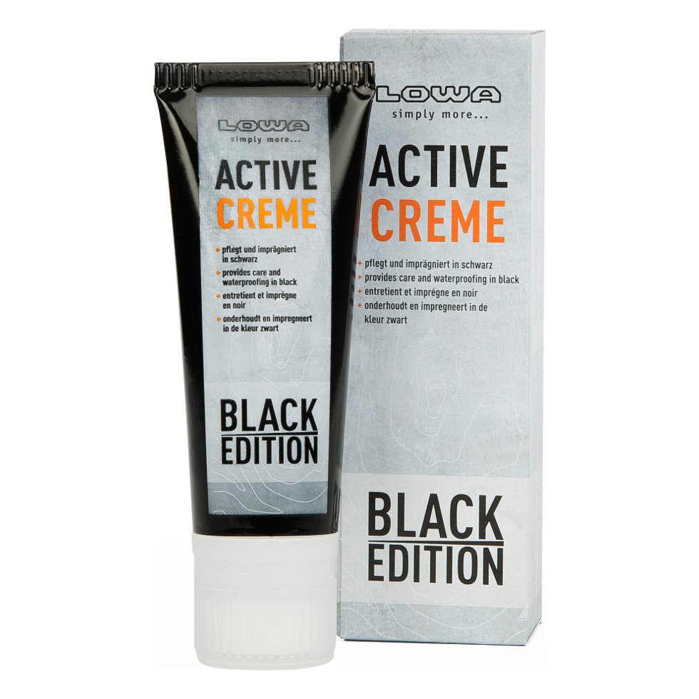 Lowa Active creme black edition 75ml