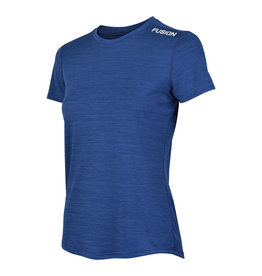 Fusion Fusion C3 T-shirt Donker Blauw Dames
