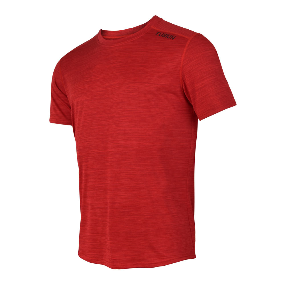 Fusion Fusion C3 T-shirt Rood Heren