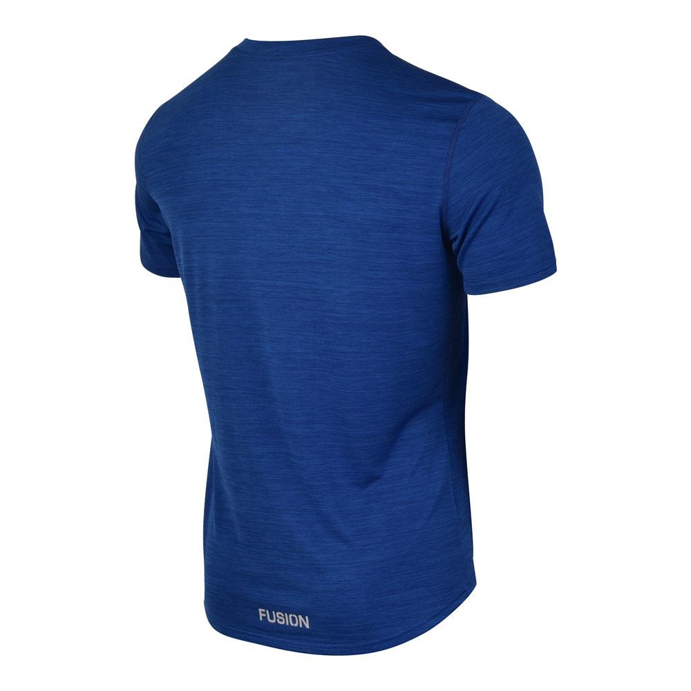 Fusion Fusion C3 T-shirt Donker Blauw Heren