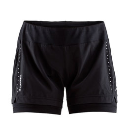Craft CRAFT ESSENTIAL 2-IN-1 SHORTS W Loopshort Dames