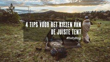 4 tips voor het kiezen van een tent