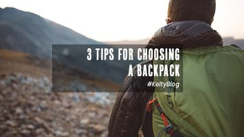 3 Tips for choosing a backpack