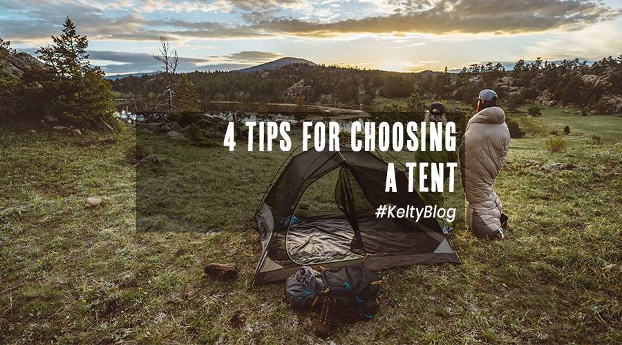 4 tips for choosing a tent