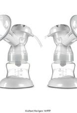 Horigen Horigen 3 D 3D Afkolfset Horigen dubbel   wit P107