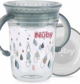 Nûby 360 graden wonder cup drinkbeker Grijs