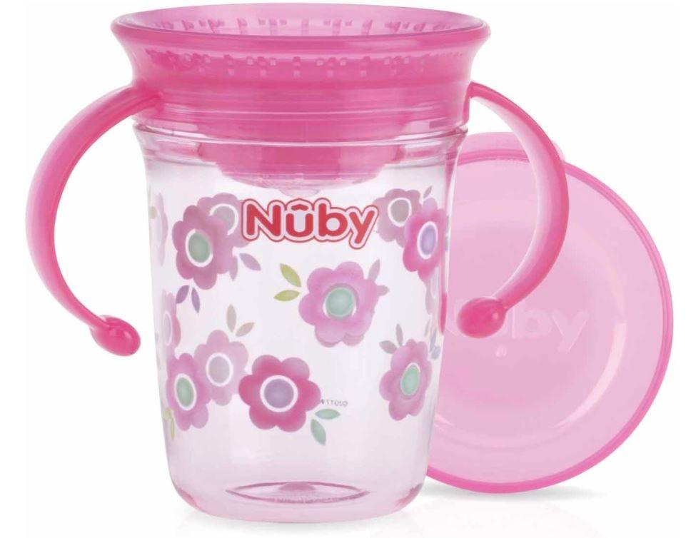 Nûby Nûby - 360° Wonder cup met handvatten in Tritan™