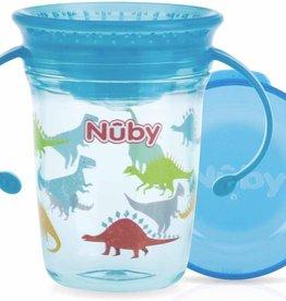 Nûby 360 graden wonder cup drinkbeker Aqua