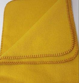 Steinbeck  Wollen baby deken Inn - geel