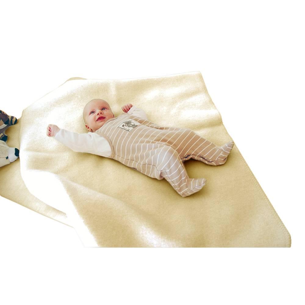 Steinbeck  Wollen baby deken Inn ca  75 / 100 cm  - Antraciet