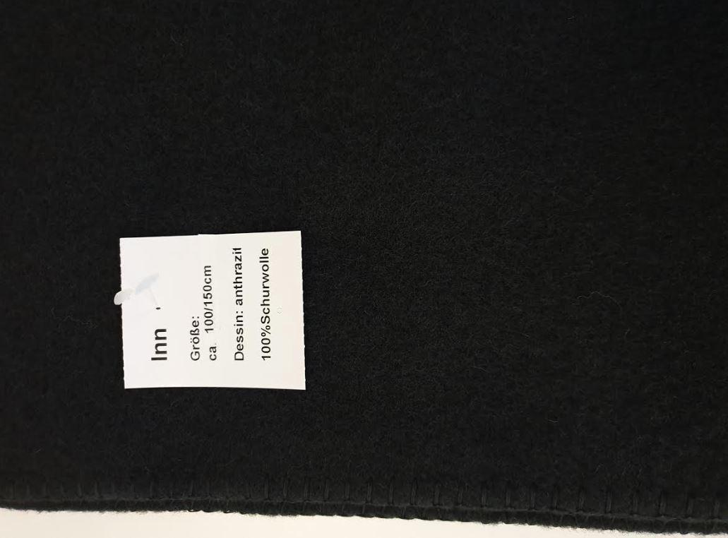 Steinbeck  Wollen baby / kinder deken Inn Antraciet  100 / 150 cm - Copy